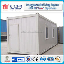 2015 New Design 40ft Portable Real Estate Container House LIDA Group