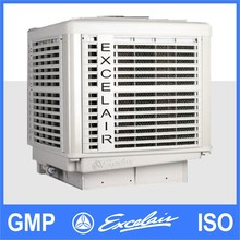 factory roof mounted inverter evaporative air cooler with special cooling pad