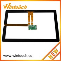 Wintouch 21.5 Inch Projected Capacitive Touch Screen For PC/Kiosk/Big Size Multi Touch Panel With USB/RS232 Controller