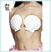 Beach Hula Party Little Mermaid Hawaiian Sea Shell Fancy Dress Bra HPC-0963