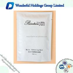 Facial mask packaging bag aluminum foil packing bag for cosmetic packing