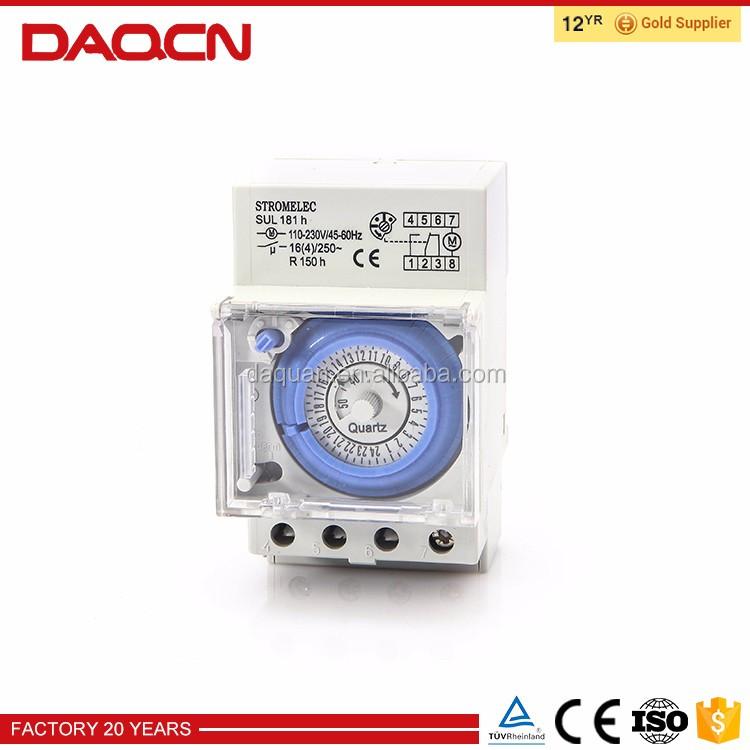 DAQCN 24-часов аналоговый процесс управления таймер