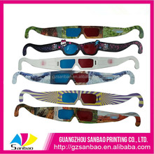 Cheap Paper 3D Glasses With High Quality Printing Factory In Guangzhou
