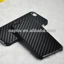 100% real carbon fiber skin cover case for iphone 5 5s