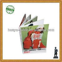 fashion clothes magazine in Yo binding /Yo binding fashion clothes magazine printing in China