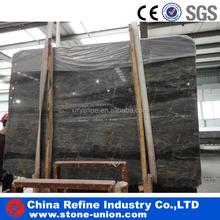 Scuru Tan brown grey polished marble slab