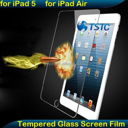 OEM/ODM High Definition Tablet Film Guard Tempered Glass Screen Protector for iPad 5