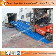 Best price car ramp mobile container loading ramp is on sale of high quality