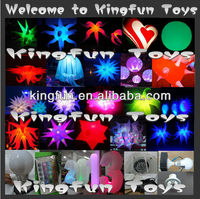 2014 LED inflatable Wedding decoration/inflatable star decoration for party