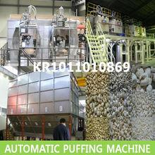 Puffed rice machine,Puffed rice making machine,Puffed corn snacks making machine