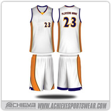 wholesale blank basketball uniforms design/ custom basketball jerseys for men