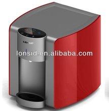 Lonsid Multi-options filtración o UV esterilización encimera caliente y fría Mini Bar dispensador de agua