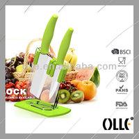 2pcs Colourful Handle Beautiful Knifes Set Kitchen