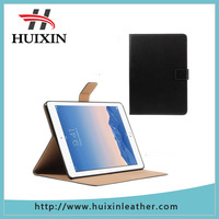 Genuine soft smooth PU l eather case with horizontal stand for iPad Air 2
