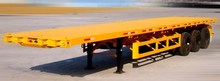 CIMC Container Trailer, Flatbed Semi Trailer
