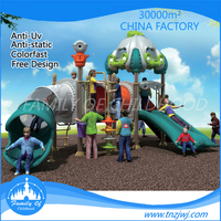 CE certificated residential used playground children slides for sale