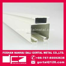 Cortina de alumínio rail & deslizando trilha da cortina & branco cortina deslizante pista