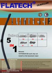 car accessories windshield wiper blade, auto multifunctional wiper blade ,manufacturer wiper