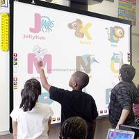 "85"" Aluminium Alloy Frames Smart Dualpen Interactive Board"