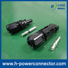 New Products Stamping pin solar pv connector cables
