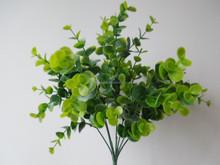 artificial plastic flower ,mini bush plastic flowers