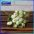Faux champagne. rose bouquet de fleurs de mariage mini artificielle rose des bourgeons de ajusté en usine directe