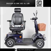 E scooter disabled BRI-S01 electric mobility scooter climbing