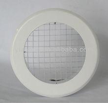 aluminio redondo de plástico eggcrate acondicionado difusor de aire de la parrilla de difusores de aire