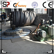 Steel Spigot and Bell Plate Port Expander for PCCPL Making Line