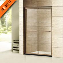 GD-705 beautiful custom made shower enclosure pivot hinge for diamond and stainless steel frame sliding shower enclosure