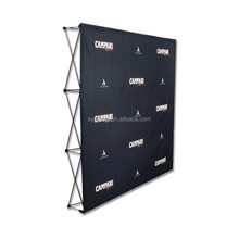 Custom newest straight pop up wall display
