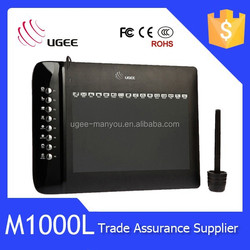 UGEE M1000L hot sale screen graphic writing digital tablet