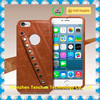 Wholesale pu leather case cell phone back cover for iphone