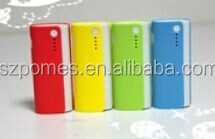 2015 high capacity fashion universal portable power banks with line in