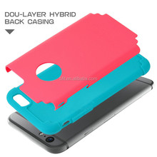 mobile phone protective shell case 2 in 1 case for apple iphone 6 4.7 inch