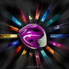 Sunshine motorcycle helmets for accessory,DOT motorcycle helmet,ABS with sun visor flip up motor helmet