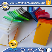 jinan top of factory hot sell opaque colour cast acrylic sheet
