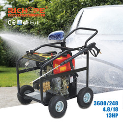 Good quality 250Bar 3600Psi 15LPM 4GPM 13HP Honda Gasoline water blaster High Pressure Washer Car Washer