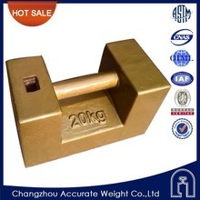 OIML,M1, 20kg dead weight tester,scales calibration weight,crane counterweight,20kg cast iron weights