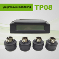 High temperature warning tire pressure messuring system