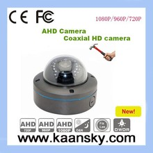 New product vandal- proof AHD CCTV dome camera housing with 2 megapixel
