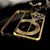 high quality custom BLING BLING diamond case for iphone 6