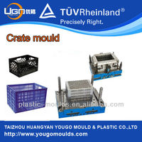 China plastic injection mould factory for fuit turnover box