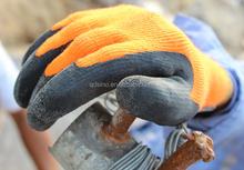7 guage latex crinkle coated winter neoprene glove