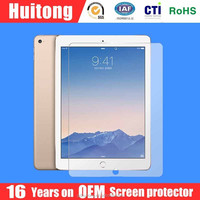 9H 0.15mm, 0.20mm 2.5D round edge tempered glass screen protector for ipad5/ipad air2, ODM &OEM