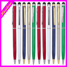 China wholesale stick shape thick stylus print logo ballpoint pen