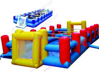 EN71 Inflatable Water Football Field, Inflatable Play Court For Sale