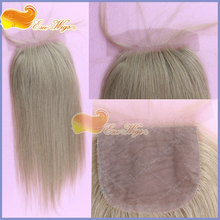 hot selling full front lace closures silk base 100 indian human hair top closures 4x4inch 12# color silky straight