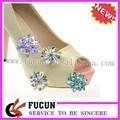 De acrílico transparente de cristales de la boda de alta- sandalias de tacón zapatos clips
