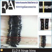 3.5cm rayon fringe trim for curtains el014